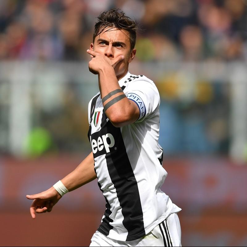 Dybala's Juventus Match Shirt, Serie A 2018/19