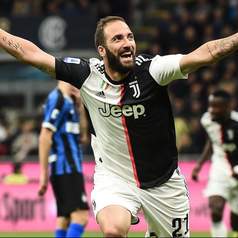 Higuain's Juventus Signed Match Shirt, 2019/20