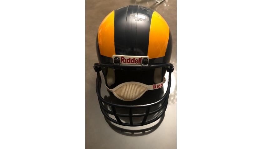 Los Angeles Rams Helmet Signed by Roman Gabriel