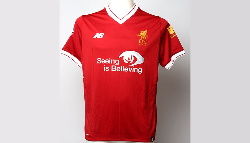 Liverpool FC signed shirt by Andrew Robertson - CharityStars c1db490df