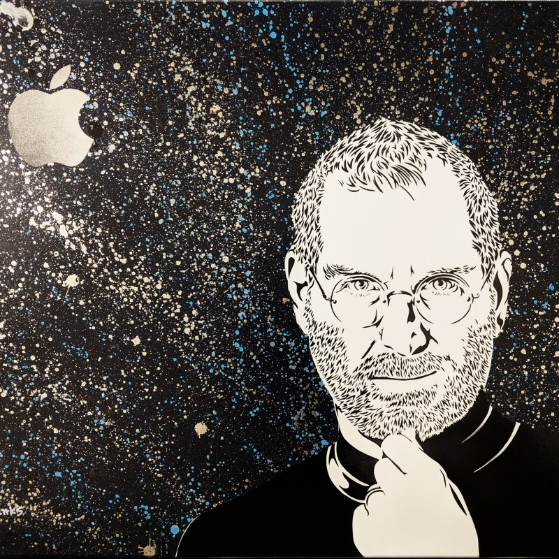 """Steve Jobs"" by Evan Sanks"