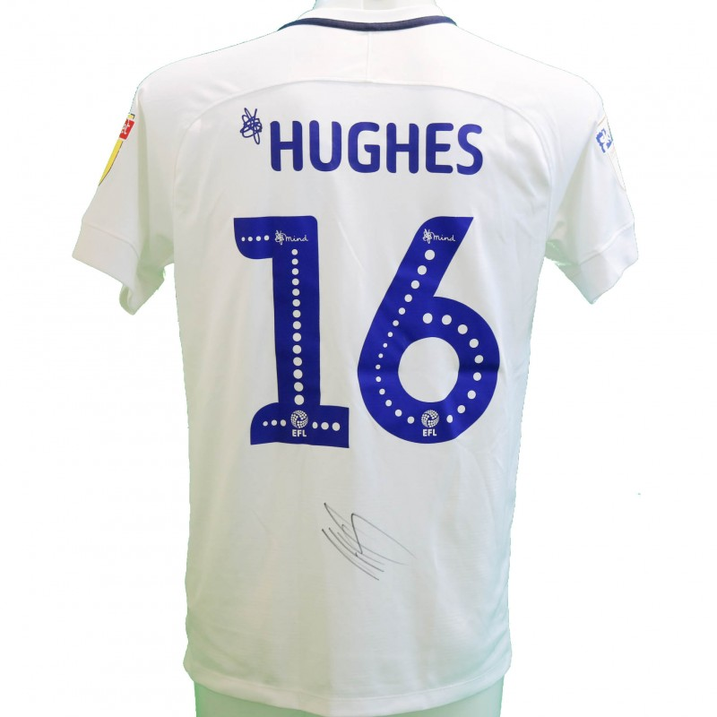 Hughes' Preston Worn and Signed Poppy Shirt