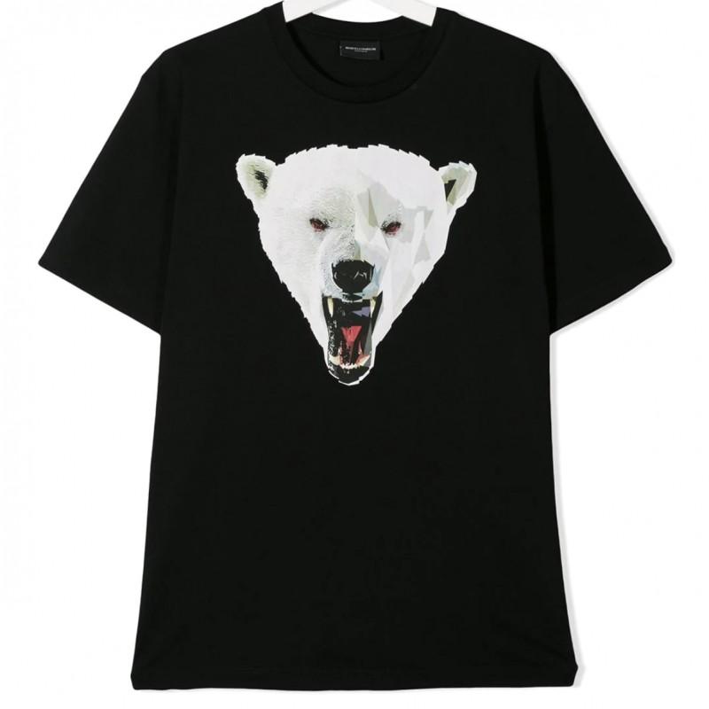 T-shirt Bear e Hoodie Red Planet Marcelo Burlon Kids