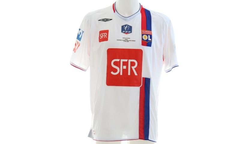 Grosso's Lyon Match Shirt, Coupe de France Final 2008 - CharityStars