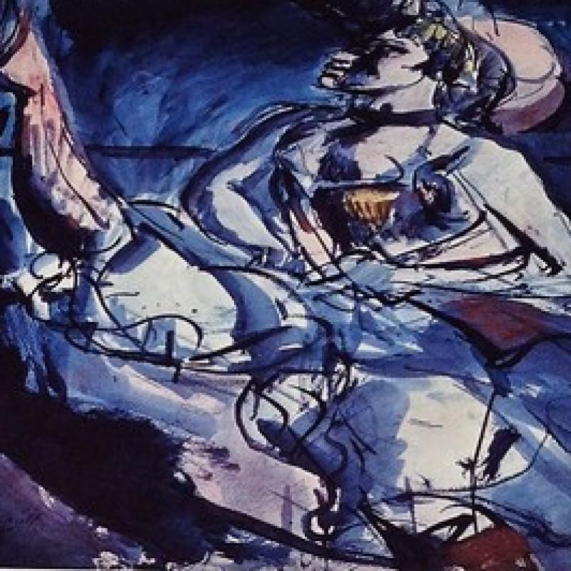 """""""Il ballo eccentrico"""" Original Lithograph by Georges Rouault"""