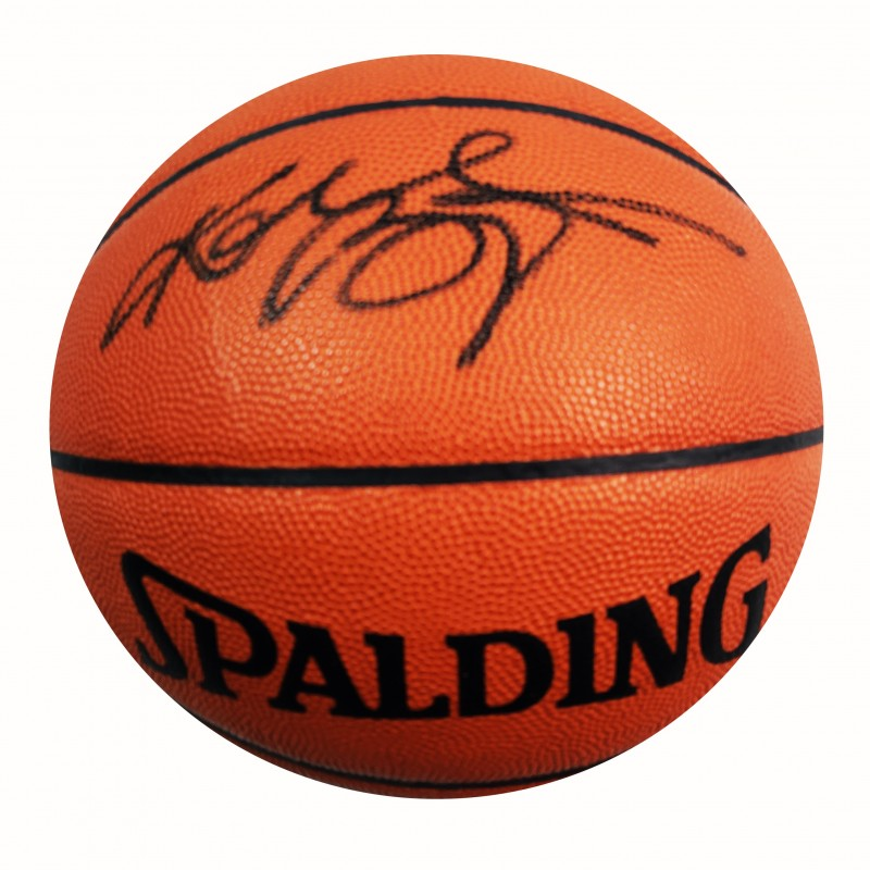 Kobe Bryant Hand Signed Basketball