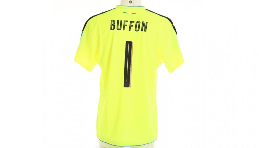 Buffon's Italy Match Shirt, 2016