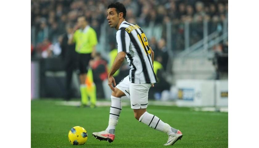 Quagliarella's Official Juventus Signed Shirt, 2011/12