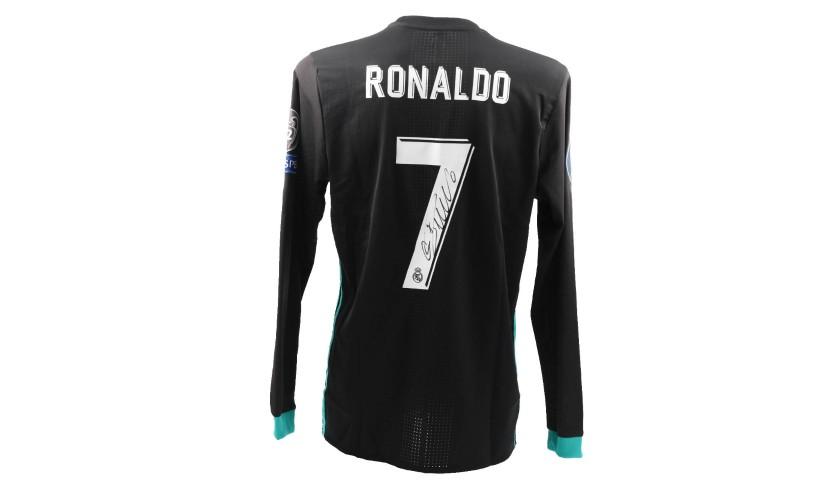 fd1267d44 Ronaldo s Match-Issue Signed Shirt