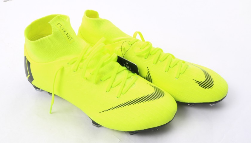 huge discount 2069a f0935 Modric s Nike Mercurial Signed Boots - CharityStars