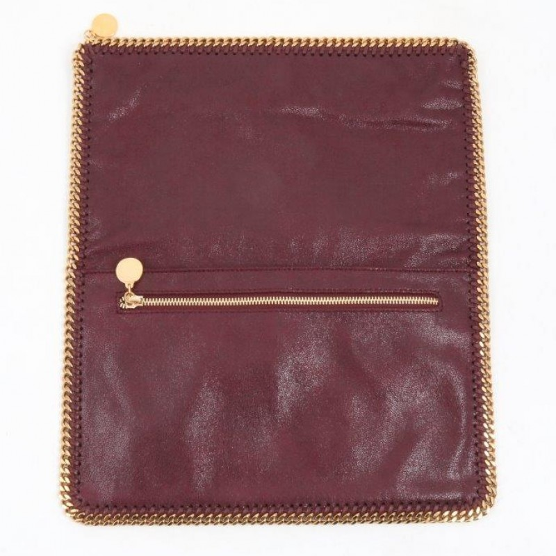 Iconic Falabella Clutch by Stella McCartney