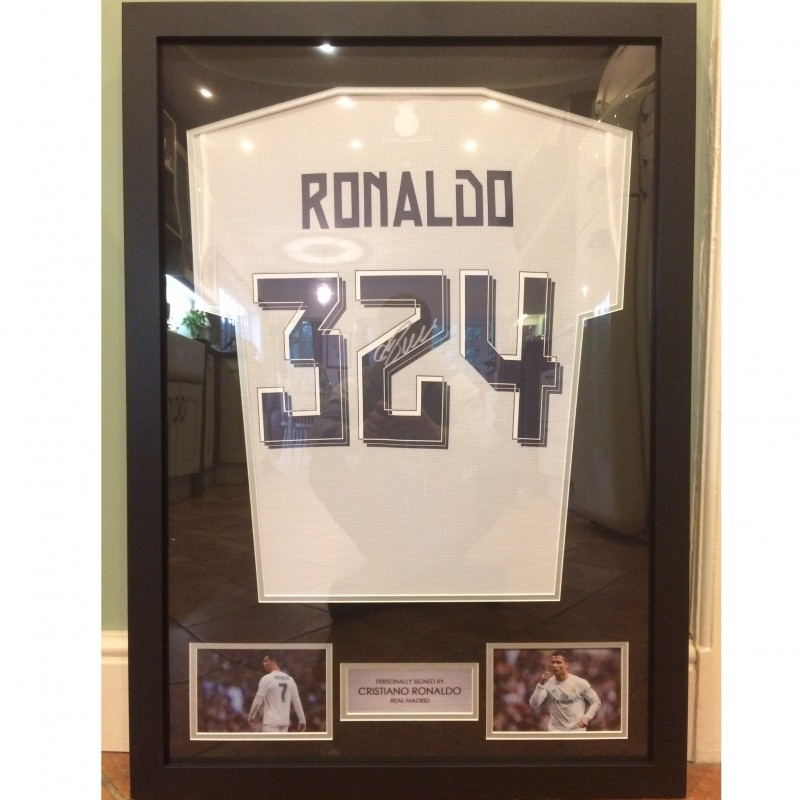 Official Ronaldo Real Madrid 2015/2016 Shirt, Special 324 Edition