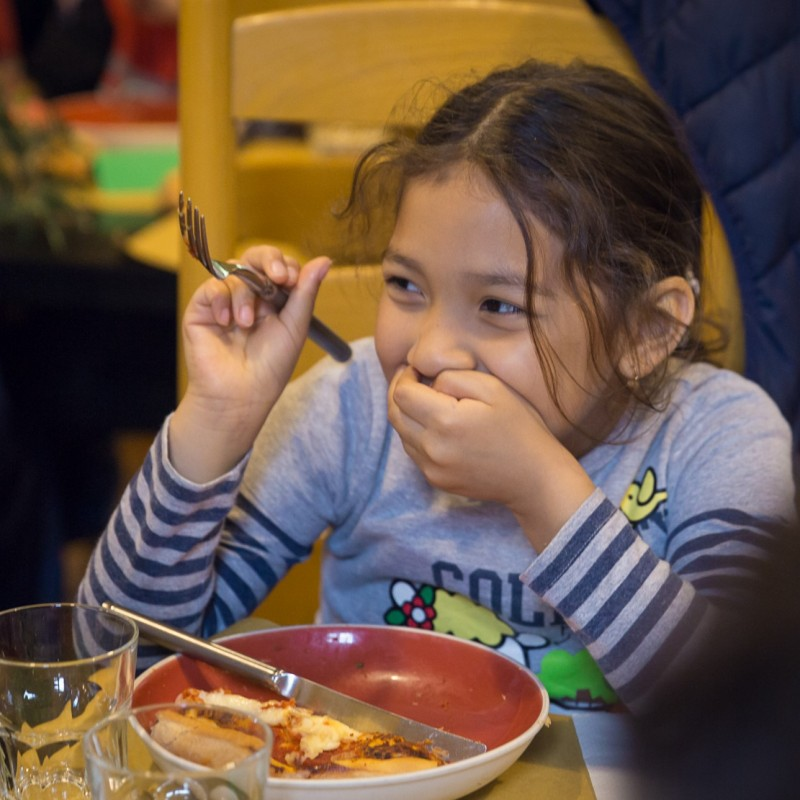 "Fund a Child's School Lunches for 2 Months at the ""Casa per Crescere"""