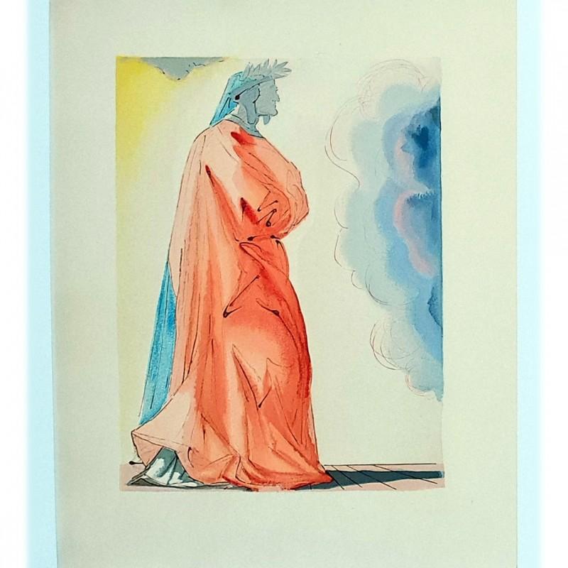 Original Board by Salvador Dalì - Divine Comedy Paradiso Canto I