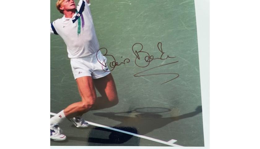Boris Becker Signed Photo