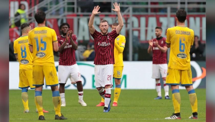 Maglia Abate indossata e autografata Milan-Frosinone 2019