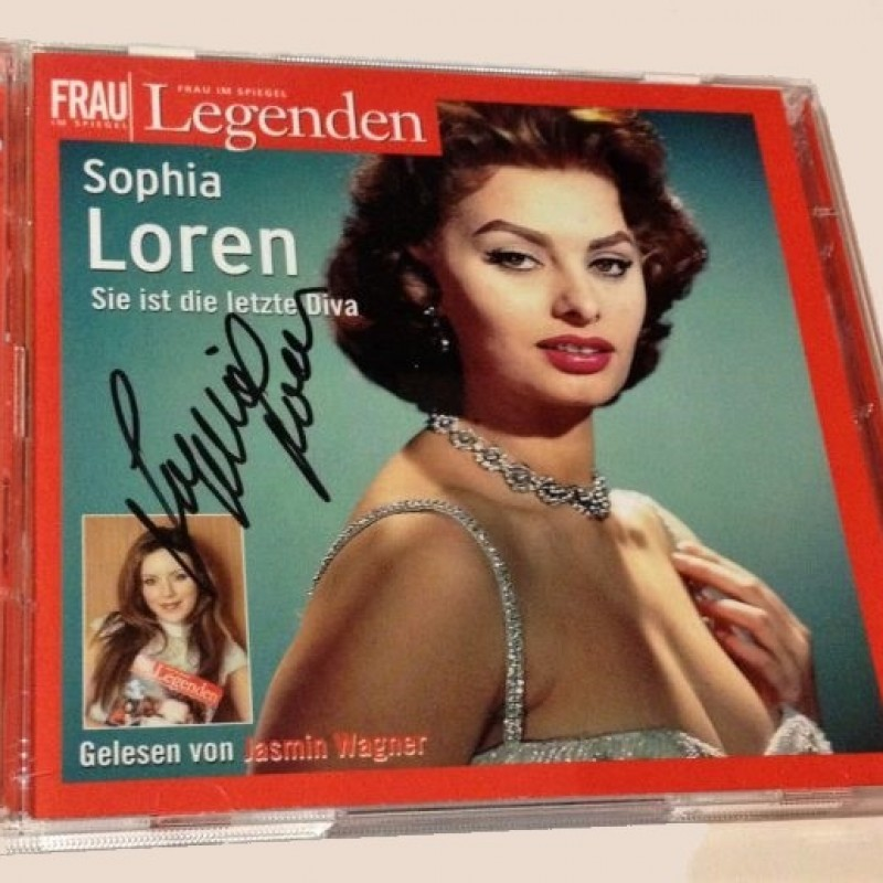 Sophia Loren Signed Double CD