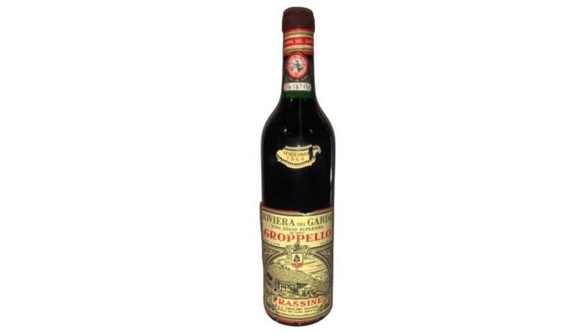 Bottle of Groppello, 1964 - Frassine Riviera del Garda
