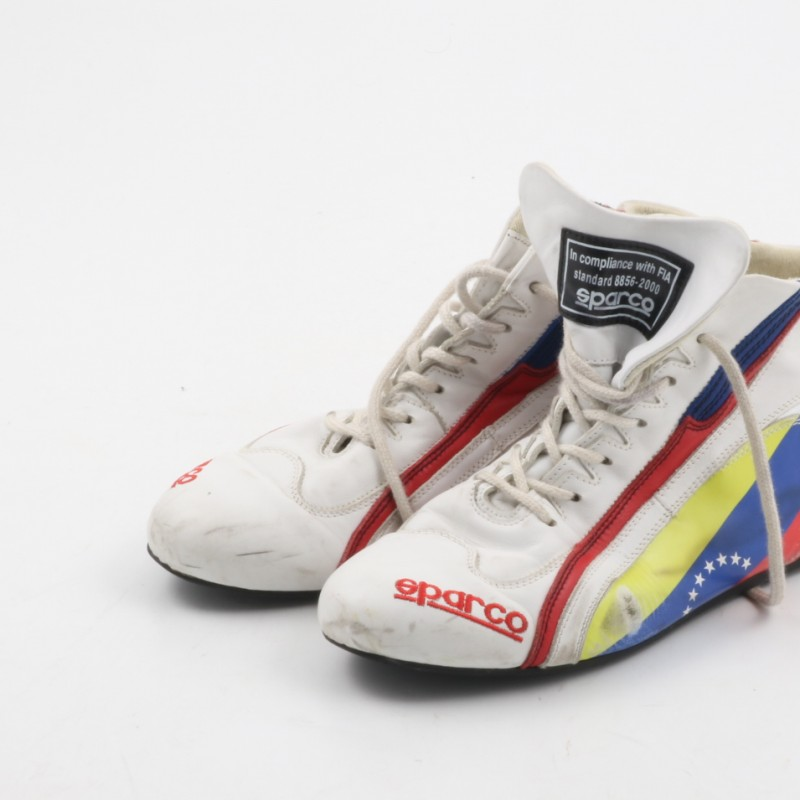 Pastor Maldonado worn Sparco shoes