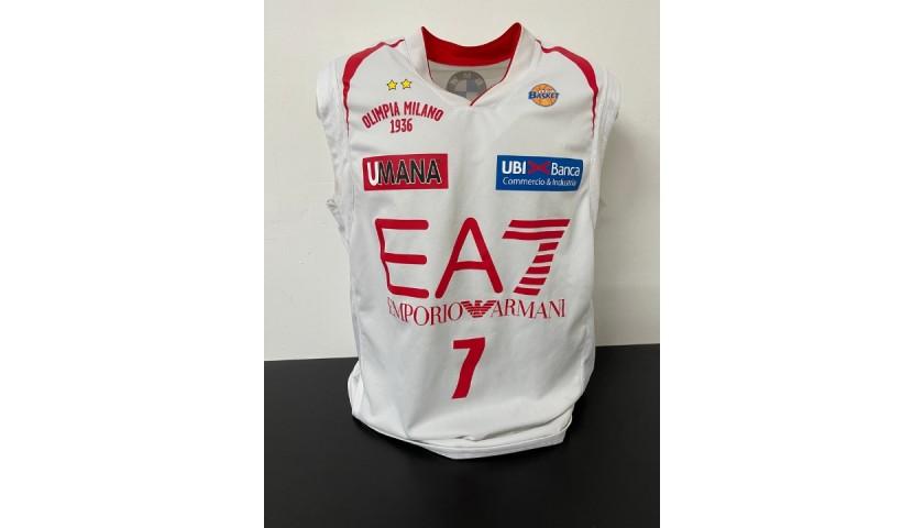 Hairston's Olimpia Milano Match Jersey, 2012/13