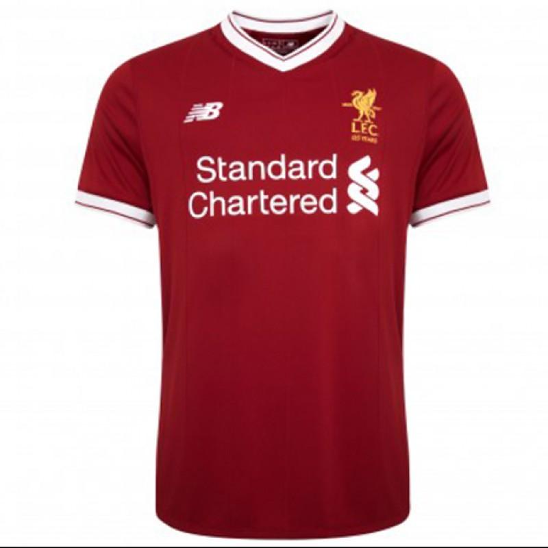 Jürgen Klopp Personalized LFC 17/18 Home Shirt