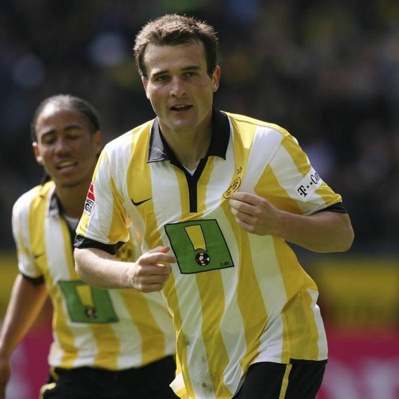 Frei's Official Borussia Dortmund Signed Shirt, 2006/07