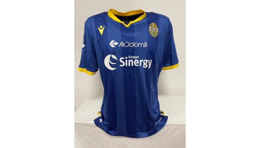 Zaccagni's Match Shirt, Verona-Lazio 2020