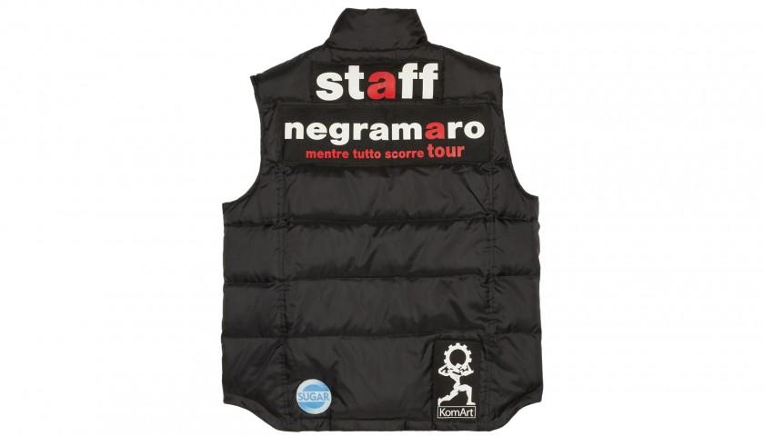 """Staff Bodywarmer from Negramaro's """"Mentre Tutto Scorre"""" Tour 2006"""