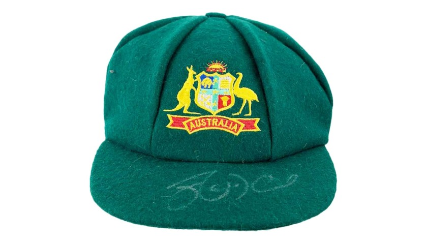 Baggy Green Signed by  Josh Hazlewood