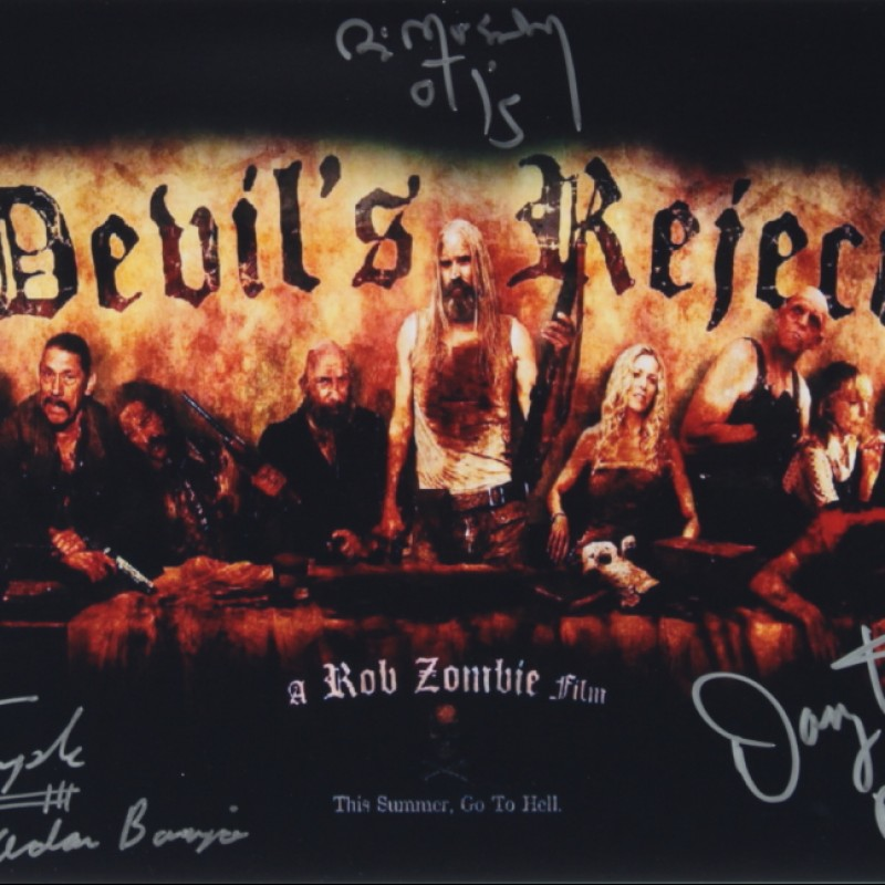 The Devil's Rejects Signed Movie Poster