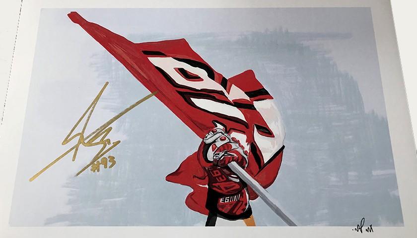 """""""Marc Marquez: Race 14, Aragon"""" by Tammy Gorali"""