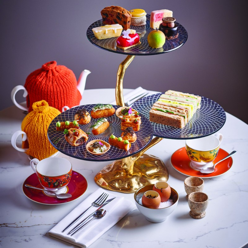 30 - Champagne Afternoon Tea for Two at Cadogan's