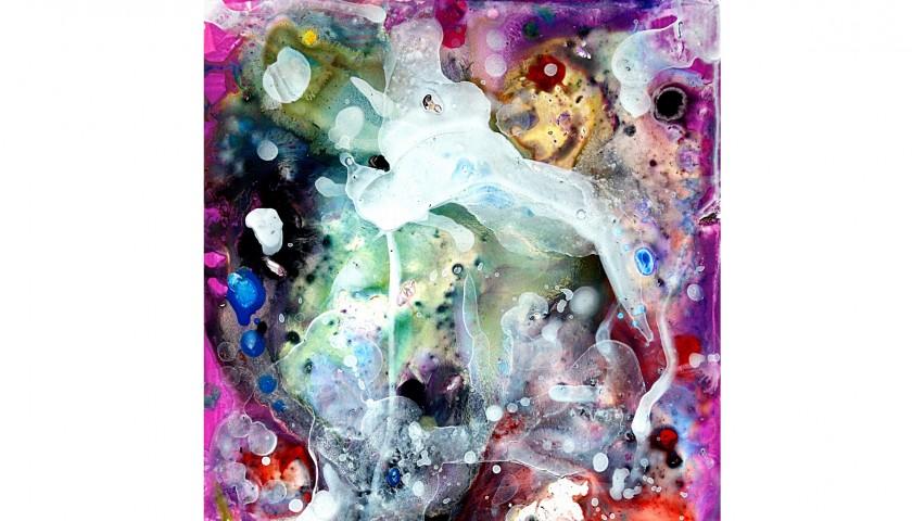 """S. Filioli  """"Resurrezione"""" graphic art - 33x48 cm"""