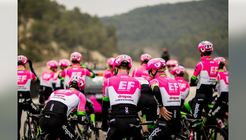 Team EF Education First Race-Issue Signed Jersey, 2018
