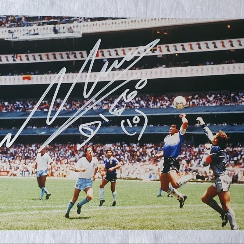Photograph Signed by Maradona