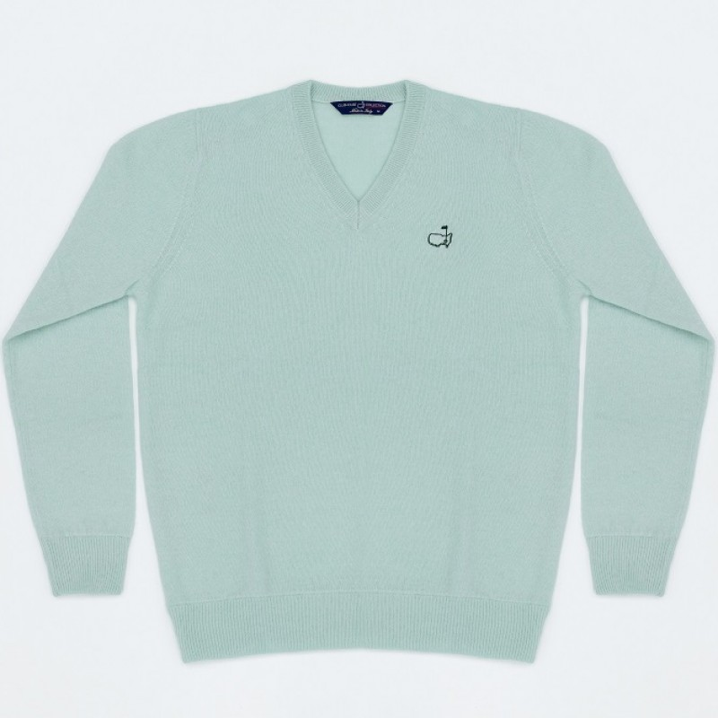 Rolex Cashmere V-Neck Masters Sweater