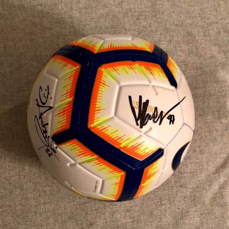 Official Serie A 2018/19 Signed Football