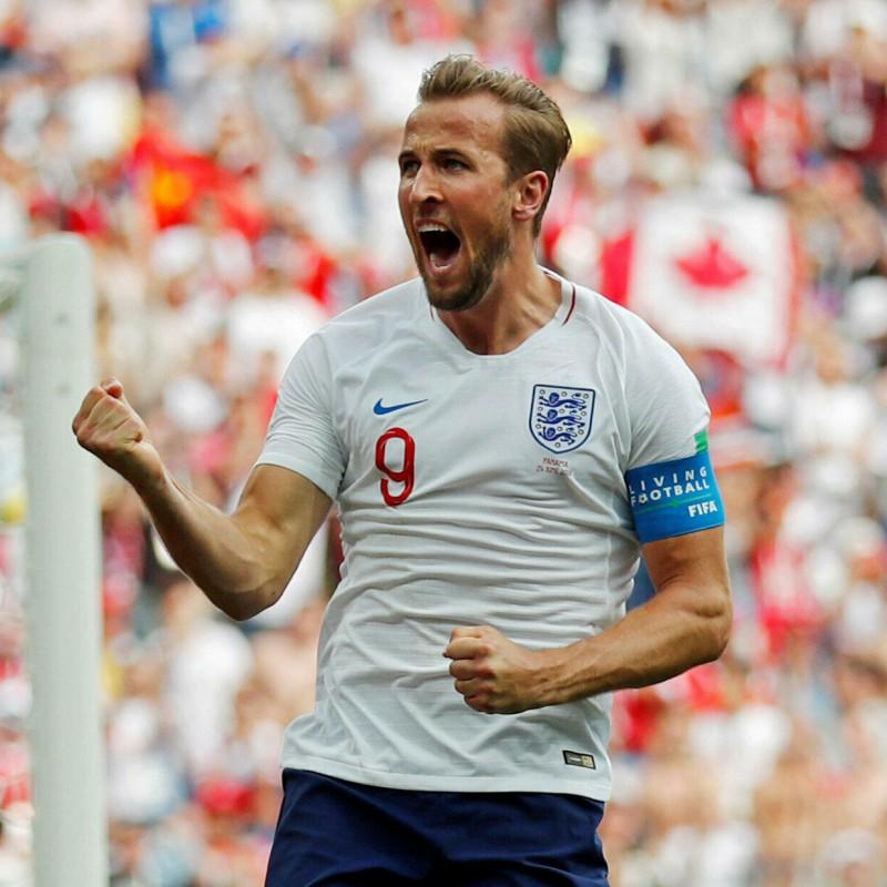 Kane's Match Shirt, England-Panama 2018