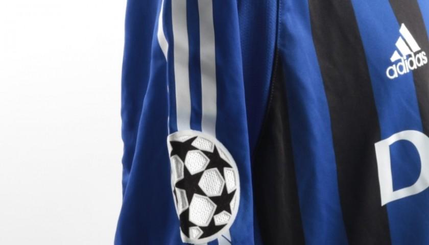 League 20052006 Champions Club ShirtIssuedworn Dufer Brugge 54jLAR