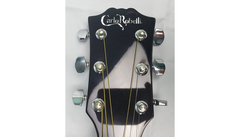 Keith Urban Hand Signed Carlo Robelli Acoustic Guitar