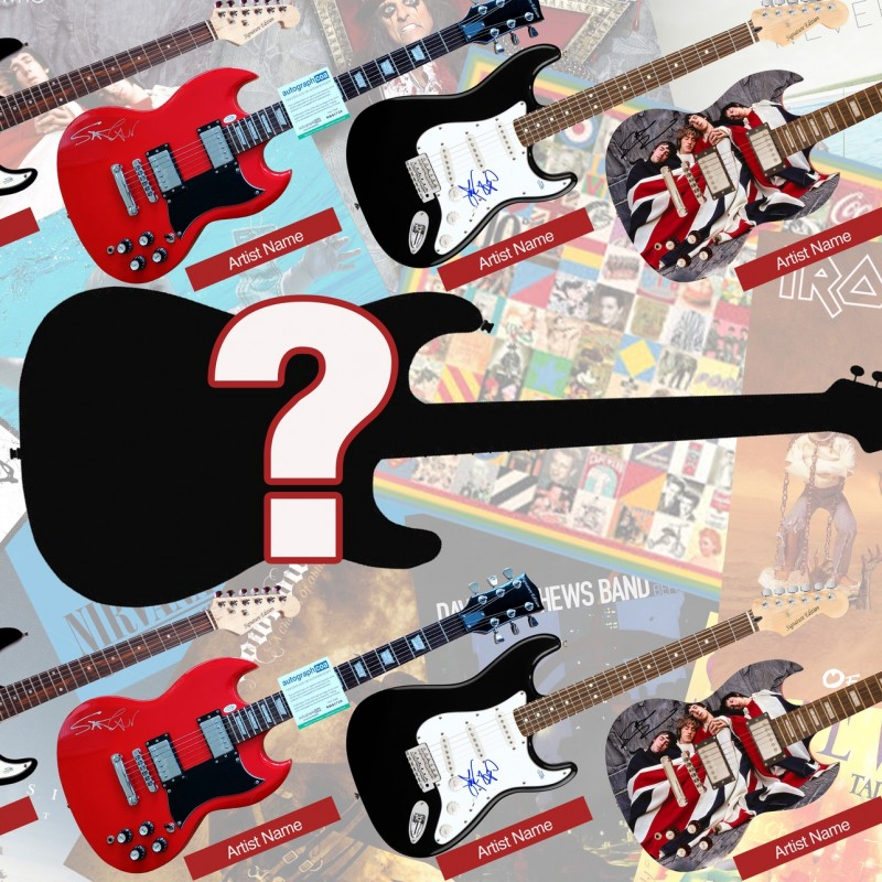 Signed Guitar MYSTERY Box
