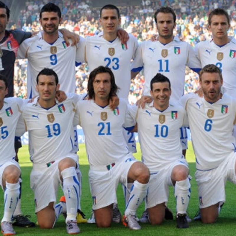 Gilardino's Official Italy Signed Shirt, 2010