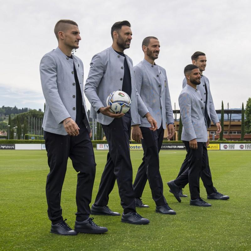 Italy Squad Emporio Armani Suit - Euro 2020
