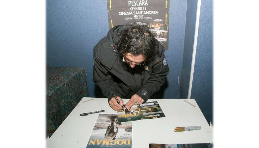 """DVD of Film """"Dogman"""" Signed by Marcello Fonte"""