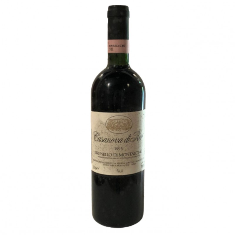 Bottle of Brunello di Montalcino, 1995 - Casanova di Neri
