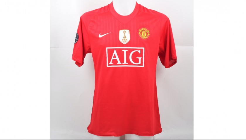 best loved 71ac7 4c1ae Rooney's Match-Worn Manchester United-Arsenal Shirt, Champions League  2008/09 - CharityStars
