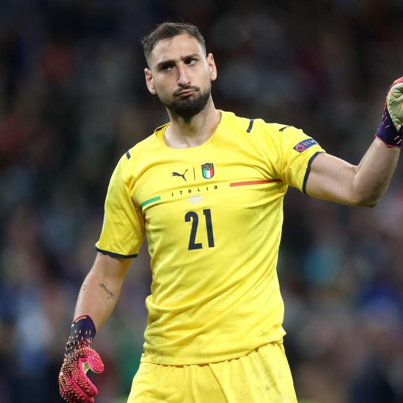Donnarumma's Match Shirt, Italy-Spain 2021