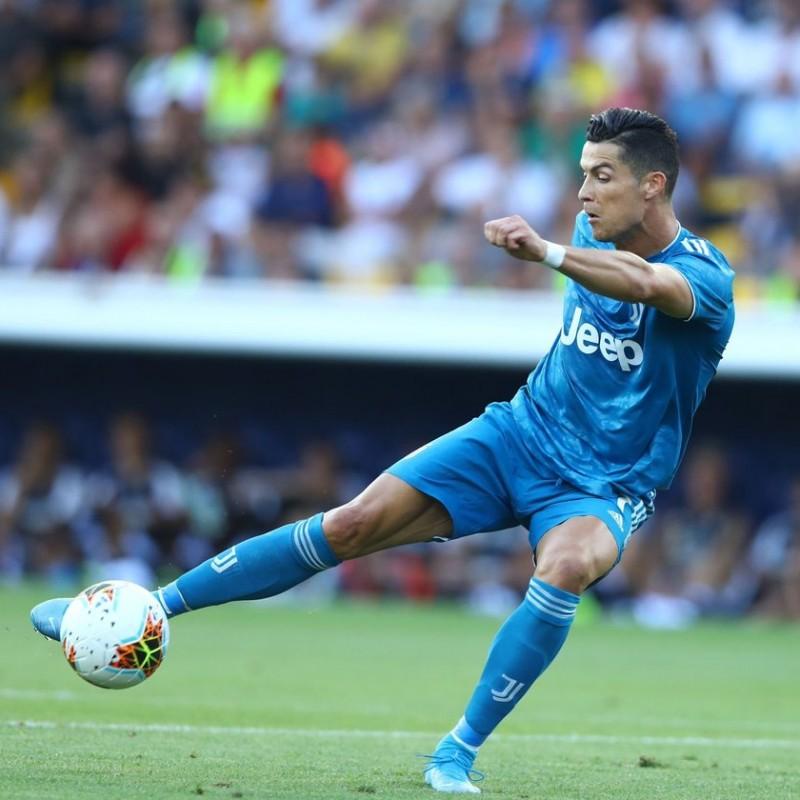 Nike CR7 Shin Pads - Signed by Cristiano Ronaldo