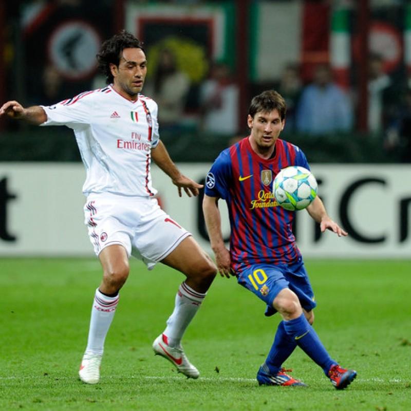 Maglia gara Messi, Barcellona-Milan 2011