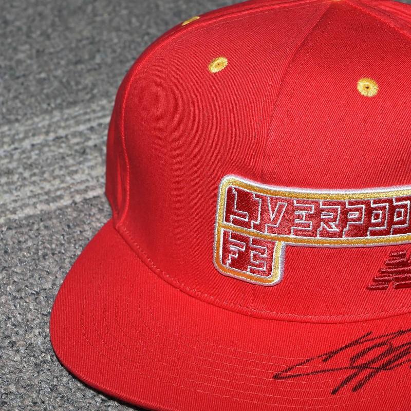 Liverpool FC Cap signed by Jurgen Klopp